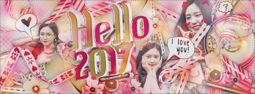 Happy New Year 2017 by YiRice