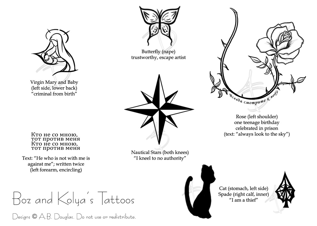 Russian Tattoo Designs and Meaning