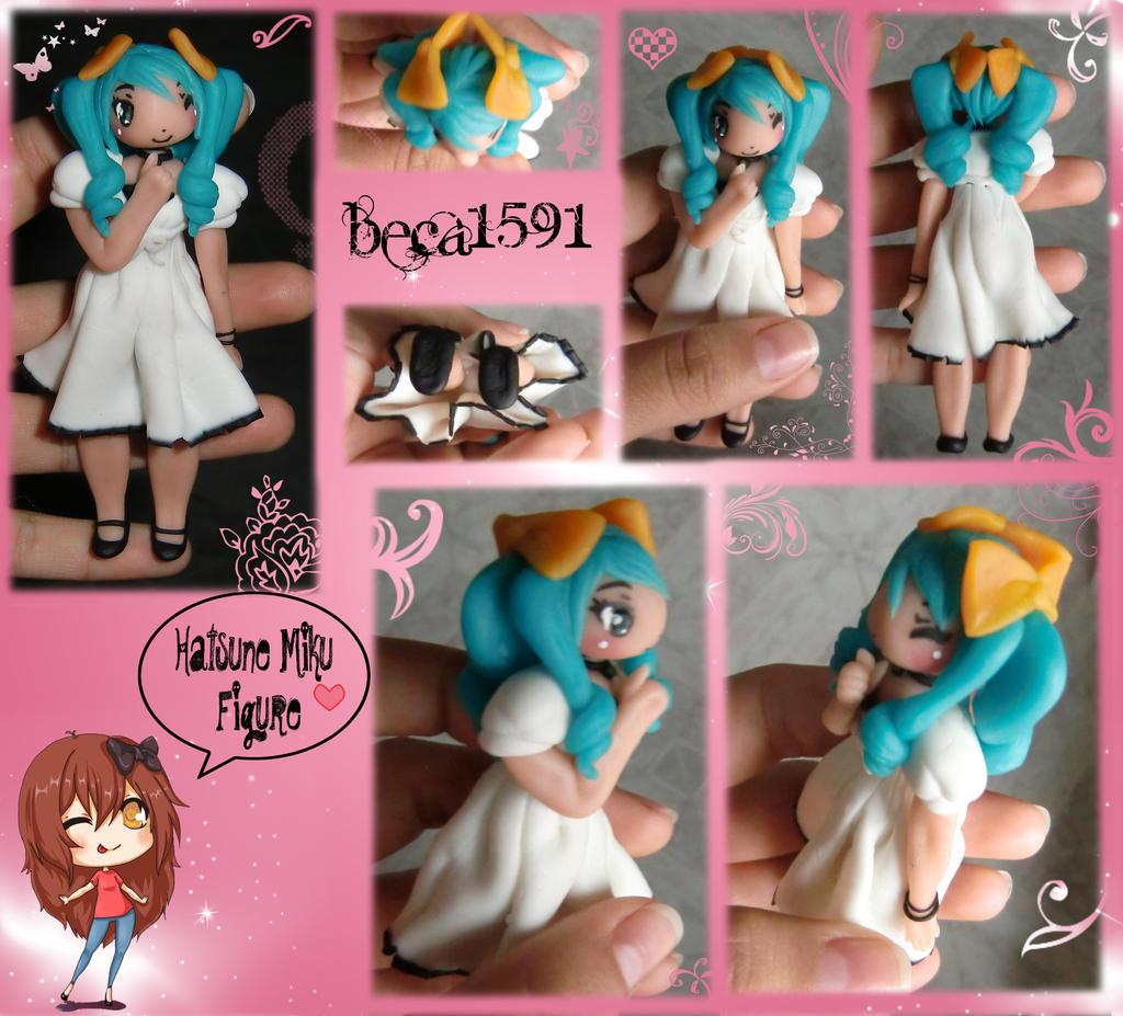 Hatsune Miku Figure by Beca1591