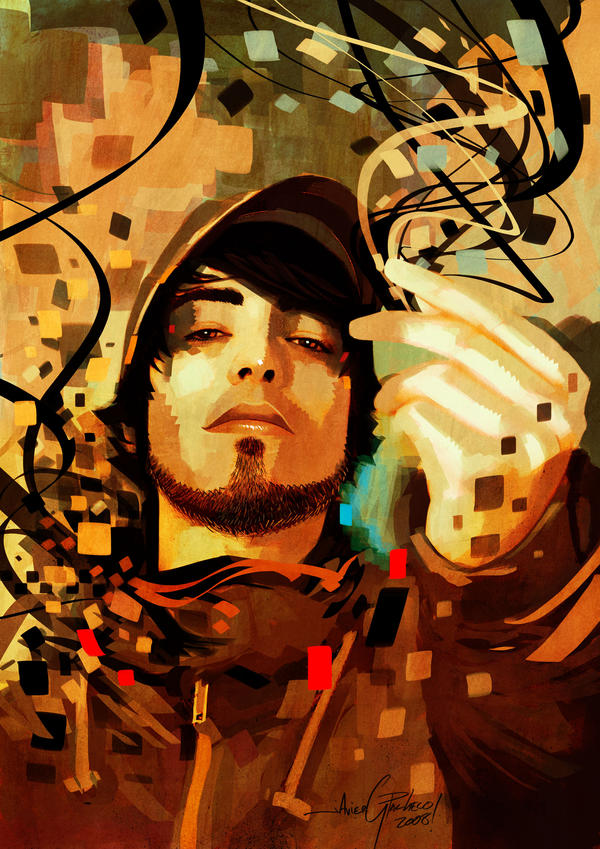 Javier Pacheco Self_portrait_squares_creation_by_javierGpacheco