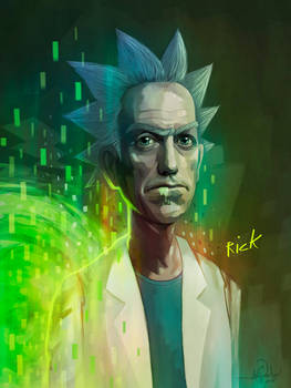 RICK SANCHEZ (Rick and Morty)