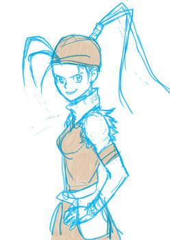 Ibuki sketch