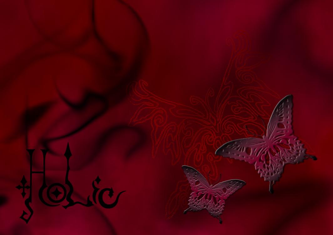 Xxxholic Butterfly Wallpaper