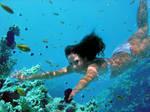 Underwater Yael
