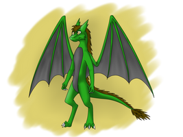 Green Dragon (AT) by Tomek1000