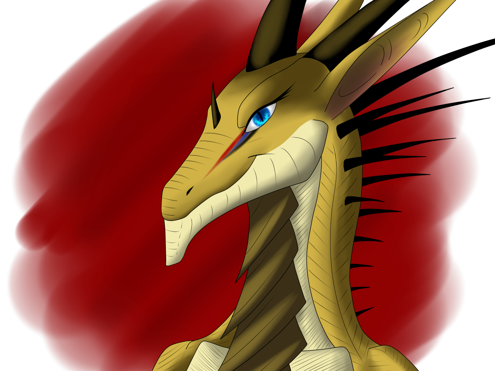 Desert Dragoness by Tomek1000