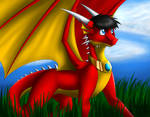 Tomek the Red Dragon