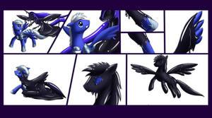 Pony into goo pony (commision)