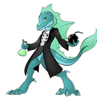 Dezim The water Lizard