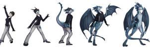 Dragon trick (commission)
