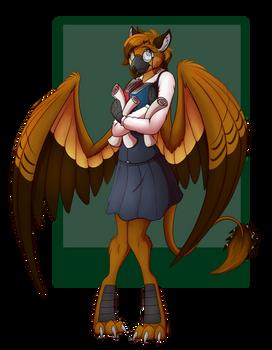 Griffon girl
