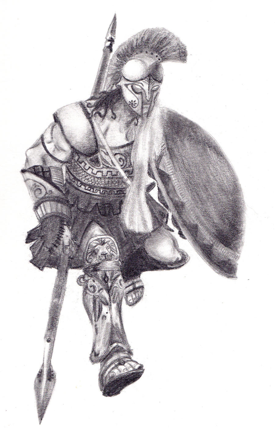 Image result for ares god drawing