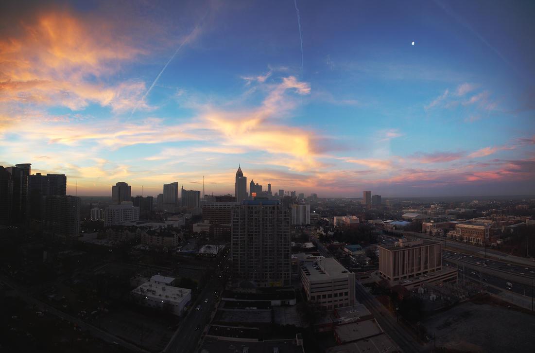 Midtown Morning by matthewfoxxphotos