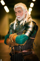 Witcher 3 - Geralt Cidarian Cavalry Armor by GH-FORGE