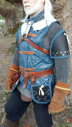 Witcher 3 - Cat armor Mastercrafted