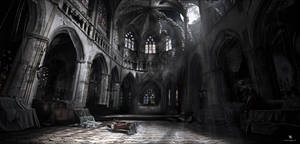 Mattepainting - Cathedral