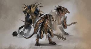 Concept Art - Wolf Warrior