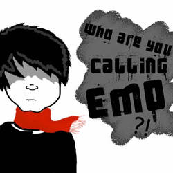 Who are you calling emo? by yonutz