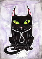 El Gato Negro by Stardust-Splendor