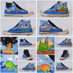 Sea Sneakers by Stardust-Splendor