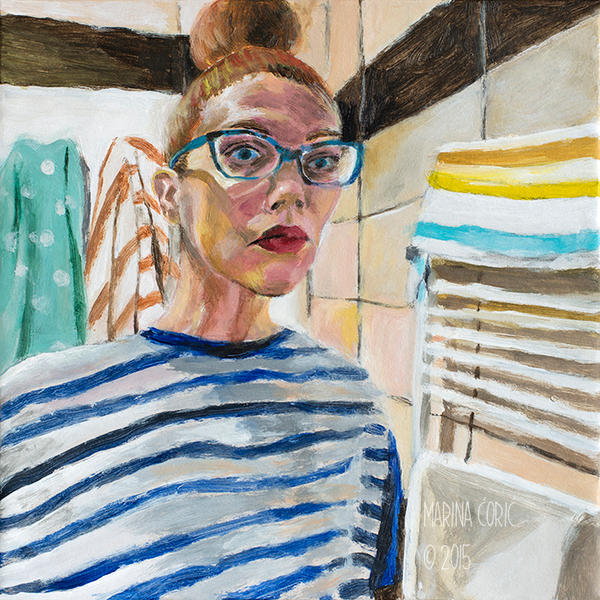 Selfportrait with Stripes