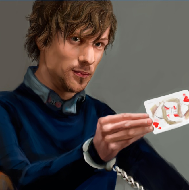 Jesse Eisenberg Now you see me by LoooneyLuna on DeviantArt
