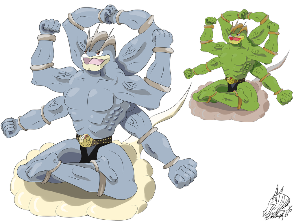 Pokemon Mega Evolution Contest: Machamp by MaximusEXE on ...
