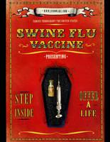 H1N1 Swine Flu Vaccine Flyer by virtuadc