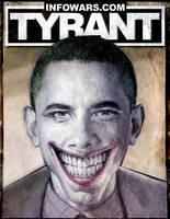 Obama Joker Poster by virtuadc