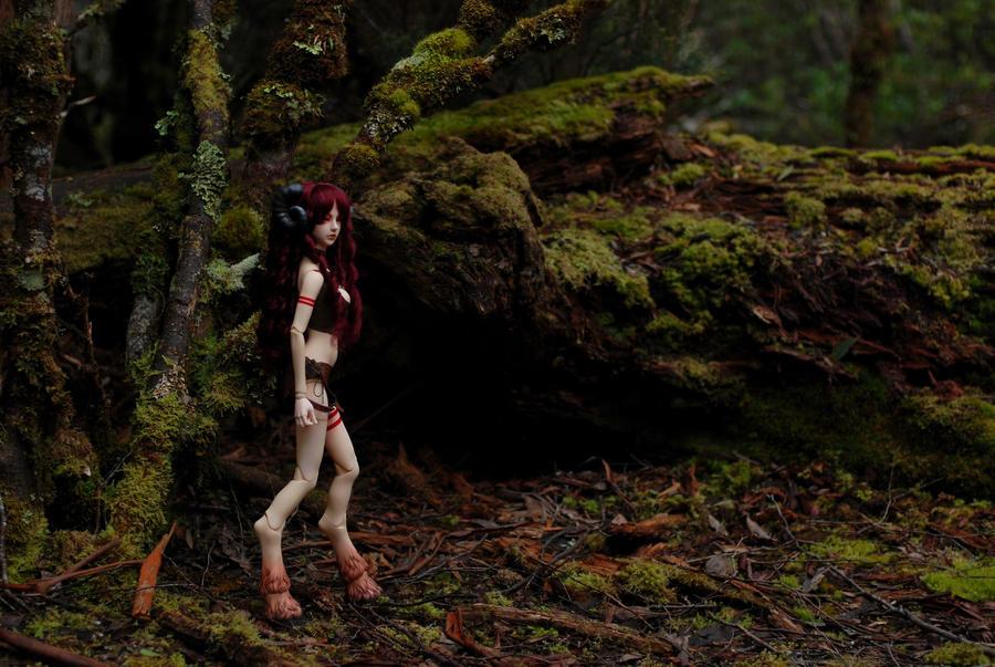 In A Deep Dark Forest by prophetek