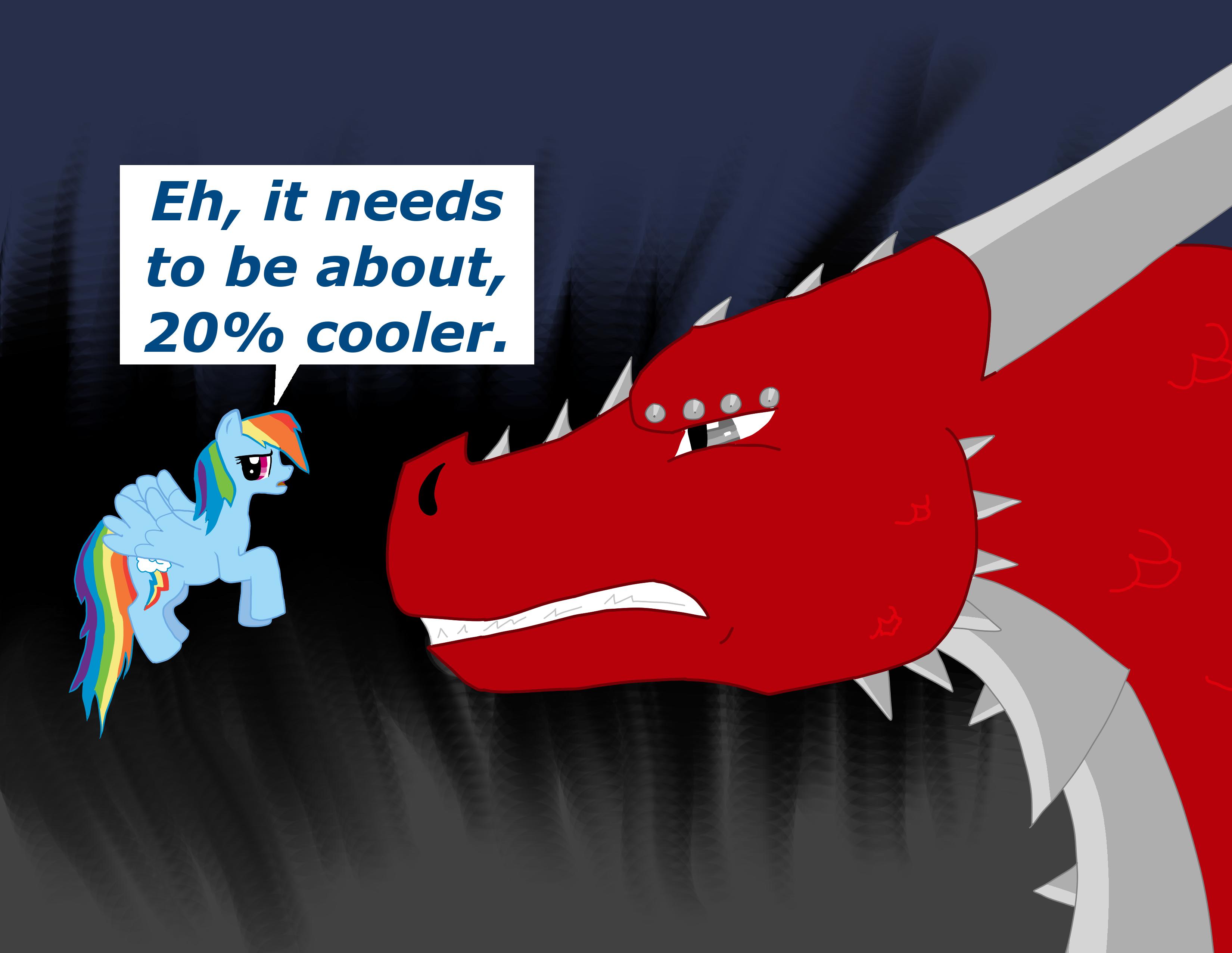 The Dragon Isn't Cool Enough by X-Kayron-X