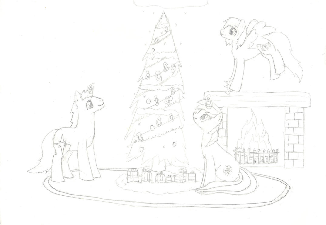 Christmas Picture by X-Kayron-X