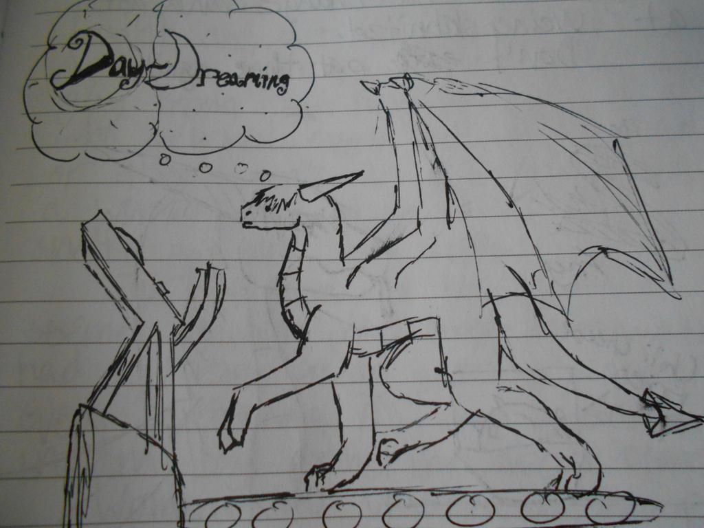 Daydreaming by X-Kayron-X