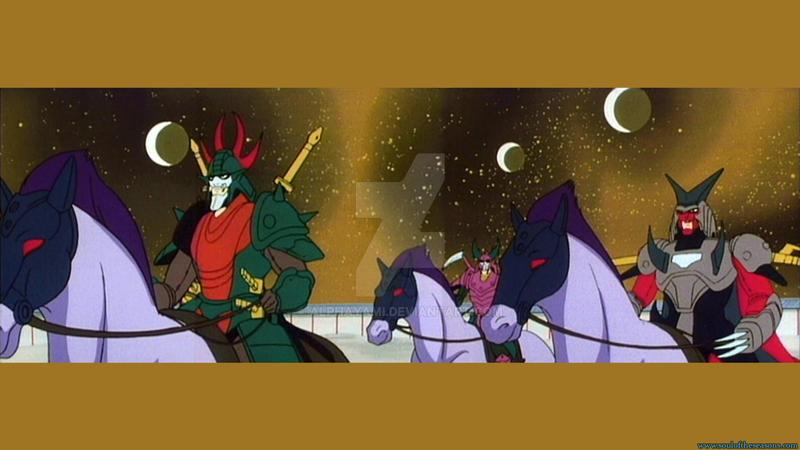 Netherworld Sky and Warlords by AlphaYami