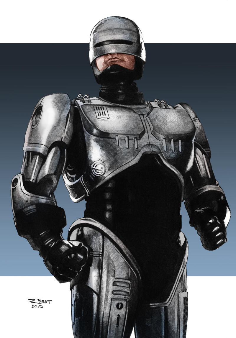 Robocop by BESTrrr on DeviantArt