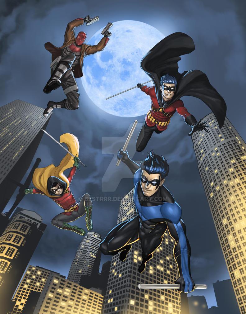 Robins by BESTrrr