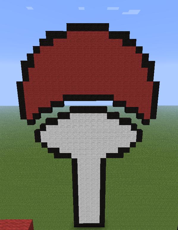 Uchiha Clan Symbol Minecraft By Deadplinkofthesand On Deviantart