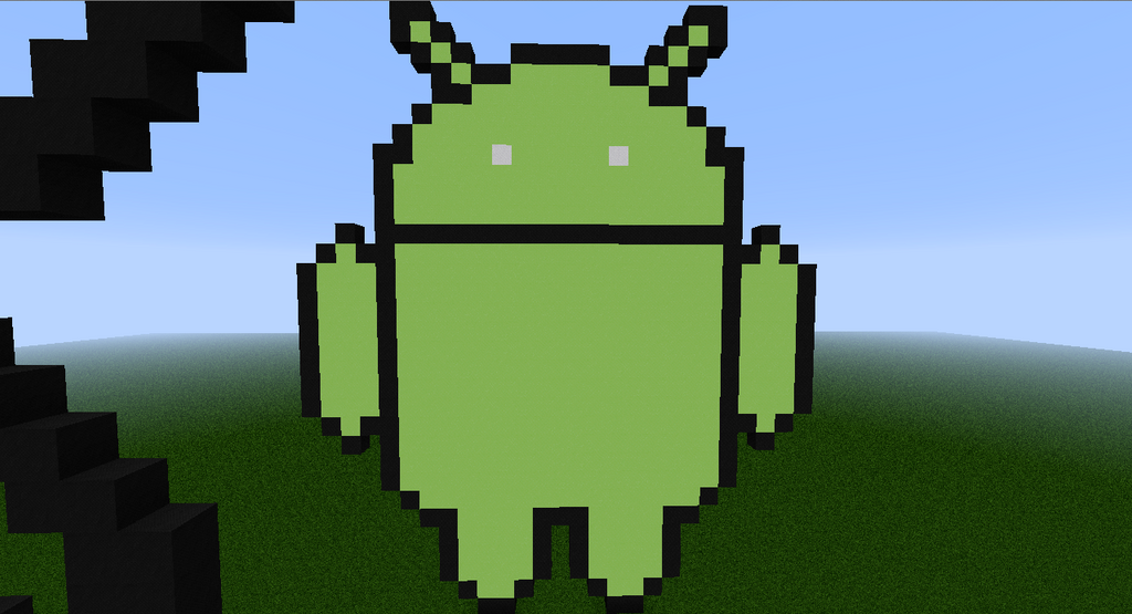 Android Logo Minecraft by DeadplinkOfTheSand on DeviantArt caVWVnpP