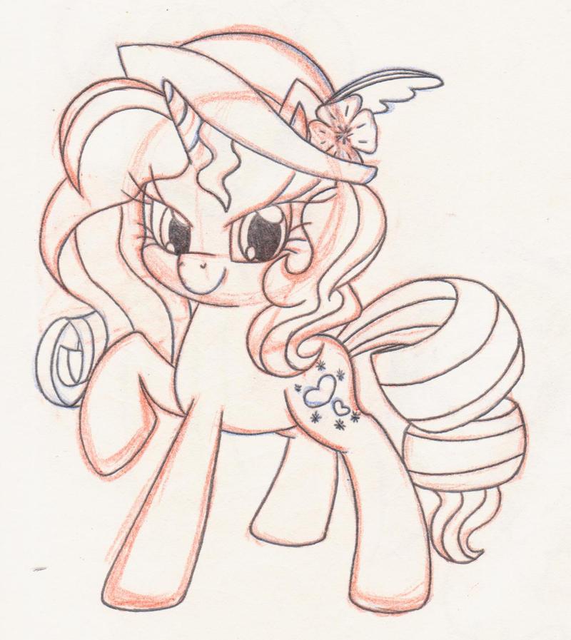 Sierra BrightHeart by Rhythm-is-best-pony