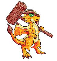Beer Whelp Pixel-art by Eppon