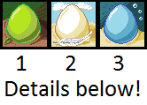Adoptable mystery reptile eggs SOLD! by Eppon