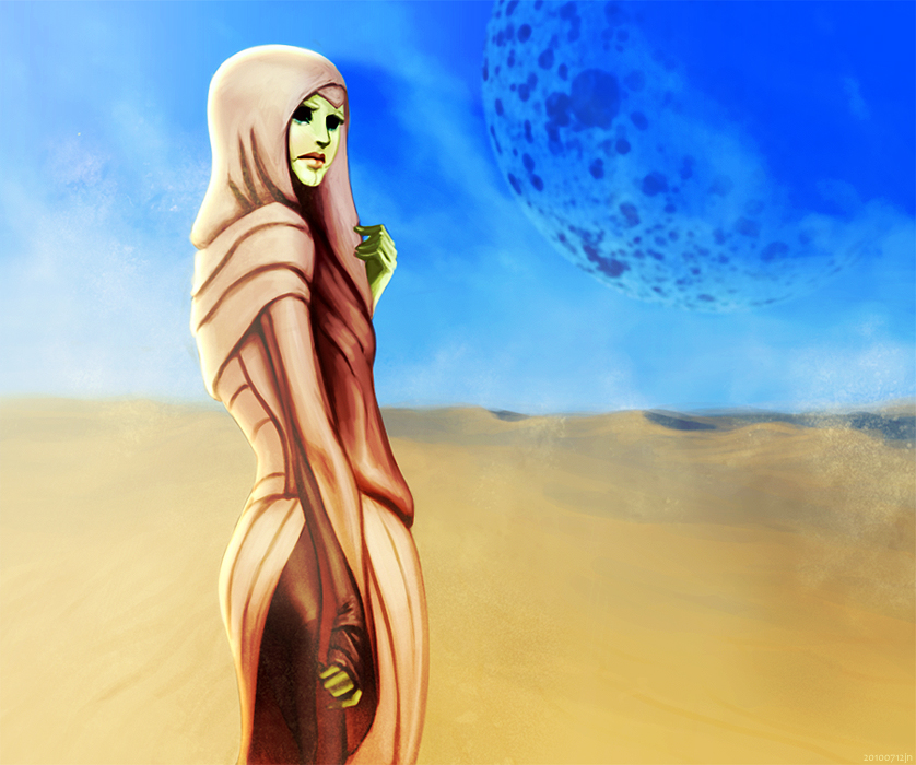 desert rose by bluewickedbehemoth