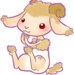 Aries lamb for Brit by JadeSketch
