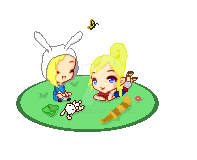Tetra and Fionna by JadeSketch