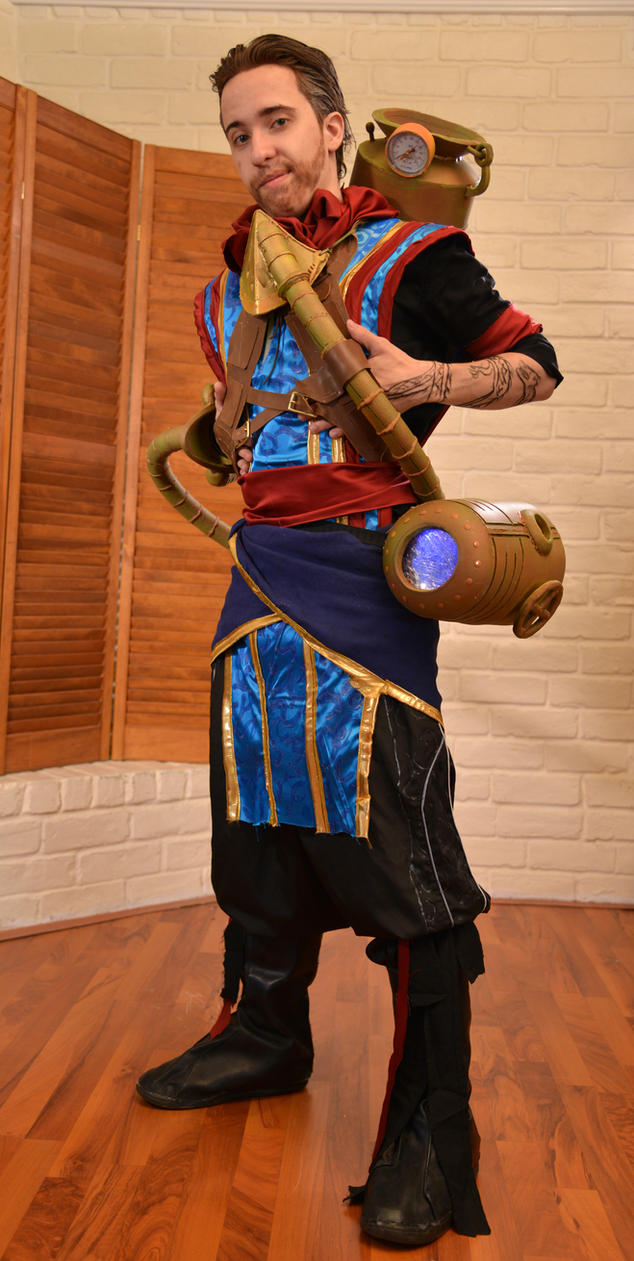 Ral Zarek MTG Cosplay 2 by DJdrummer on DeviantArt