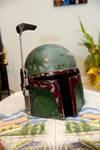 Boba Fett Helmet Commission by DJdrummer