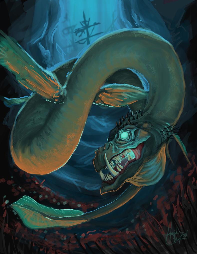 Deep Sea Dragon by MiladyIsilwen on DeviantArt