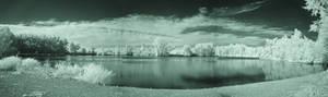 Waterford Pond Panarama (IR)