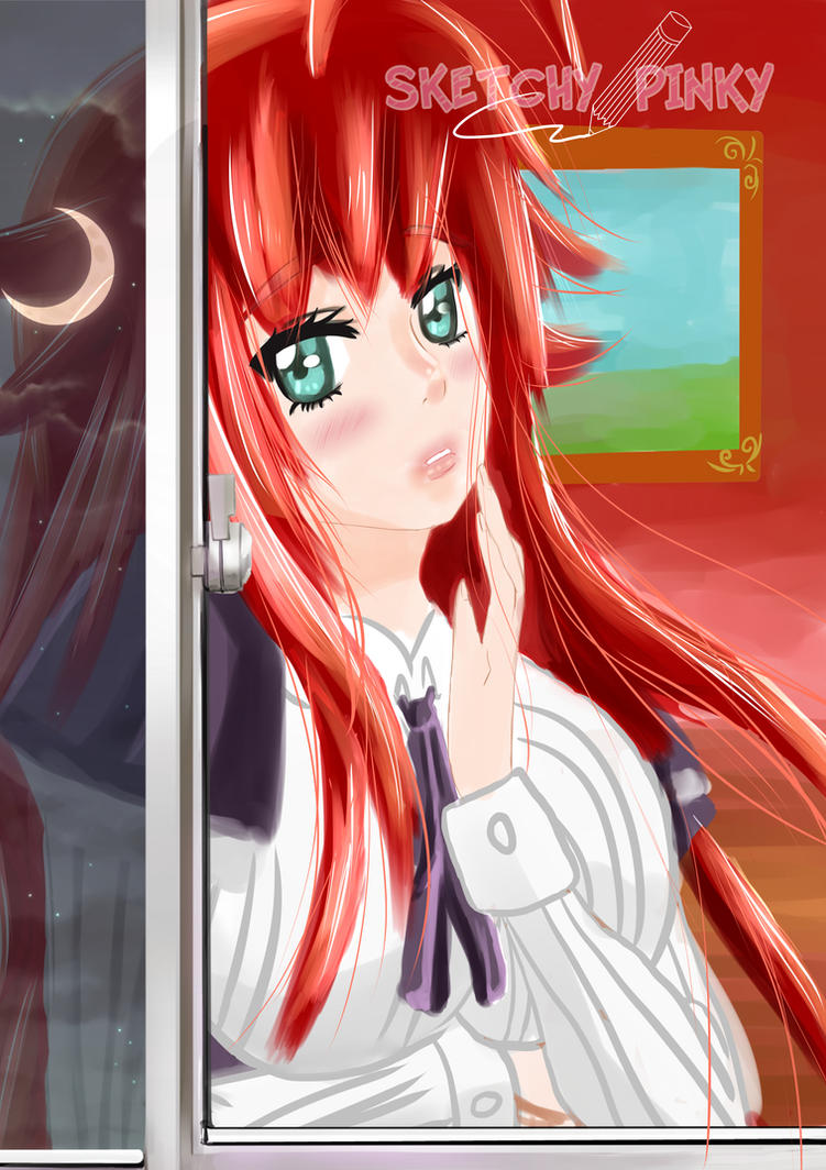 hs dxd rias by animefanbabe