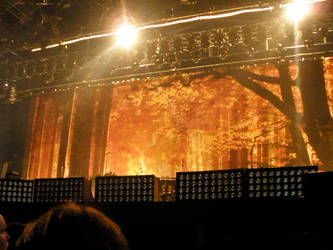 The stage of The Killers by muiisje